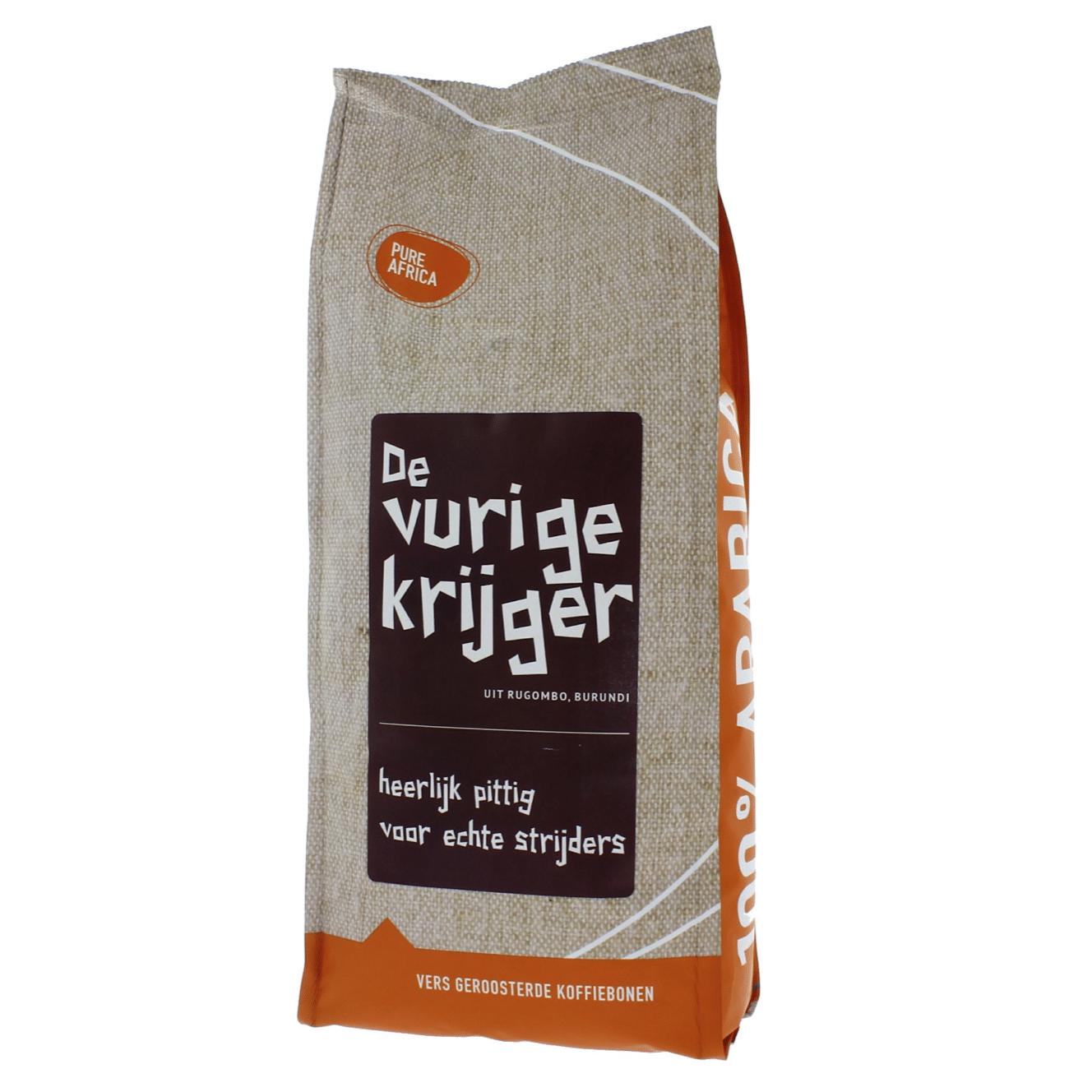De Vurige Krijger - koffie van vulkanische sterkte