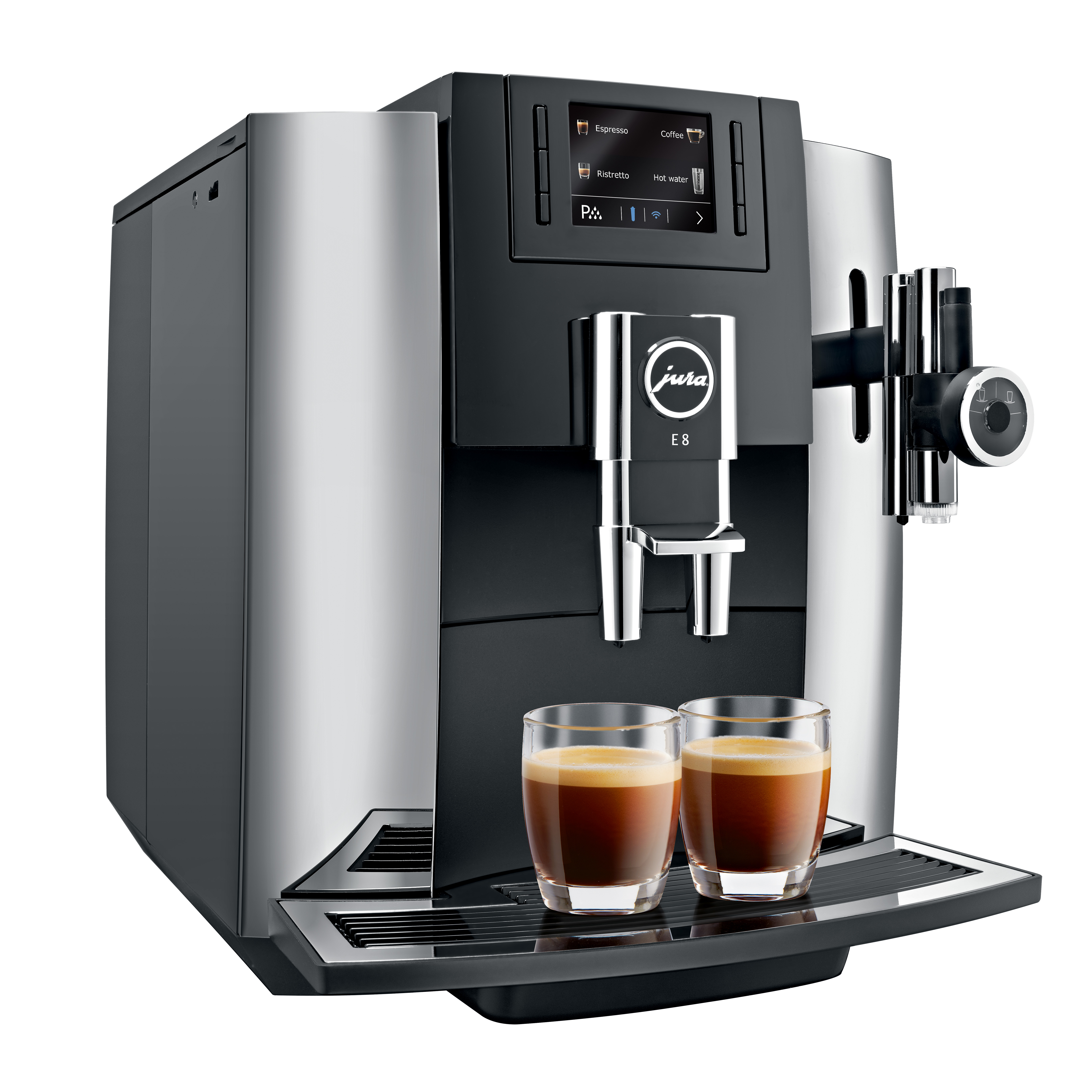 Jura E8 Chrome Pure Africa Coffee Jura Premium Partner
