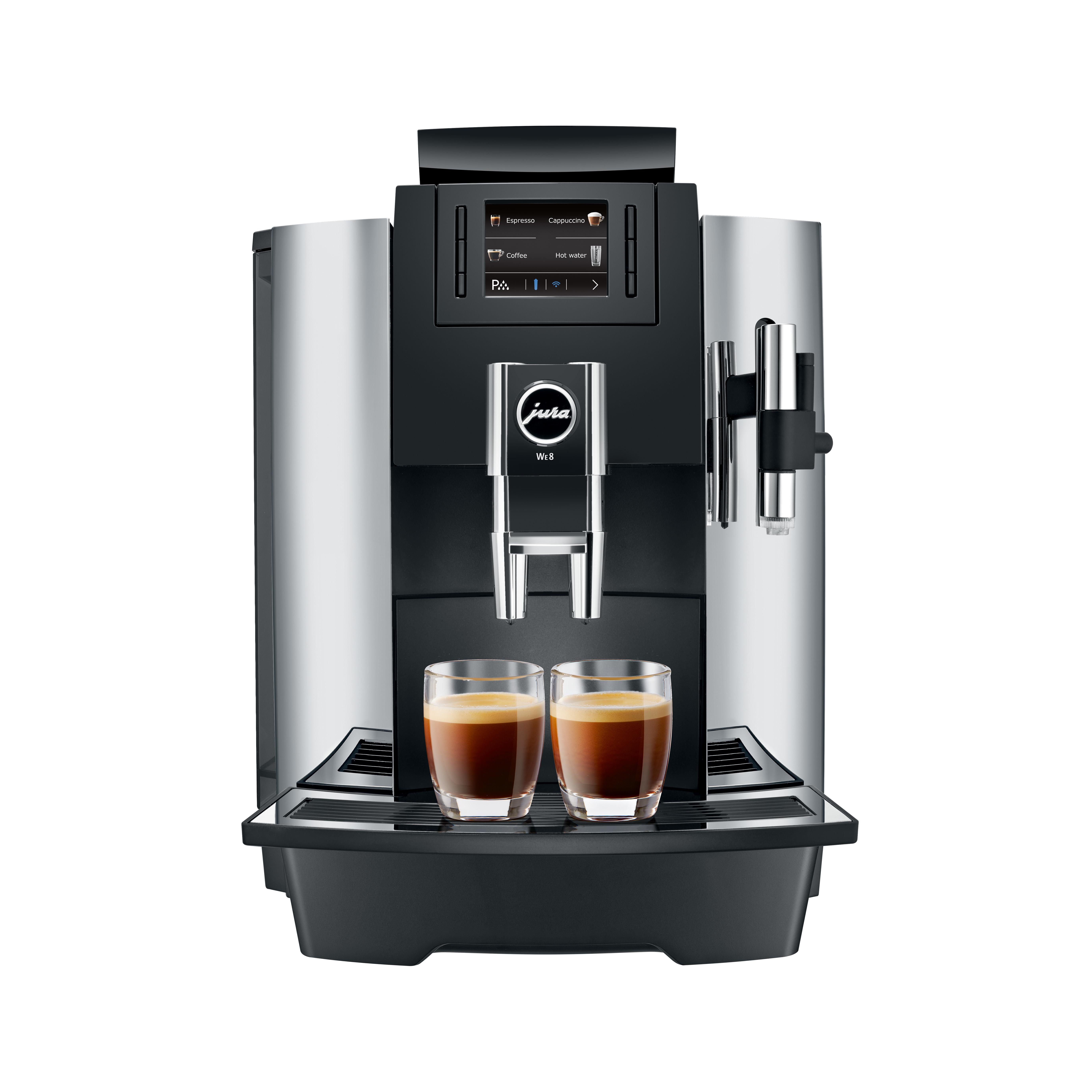 Jura WE8 chroom bestellen bij Pure Africa Coffee