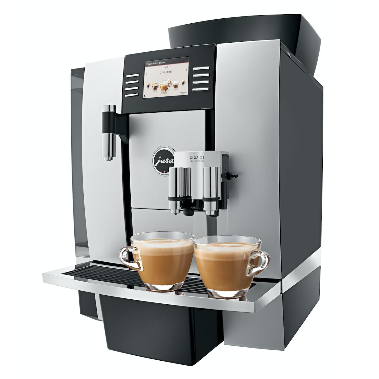 180 koppen koffie per dag met de Jura X3.