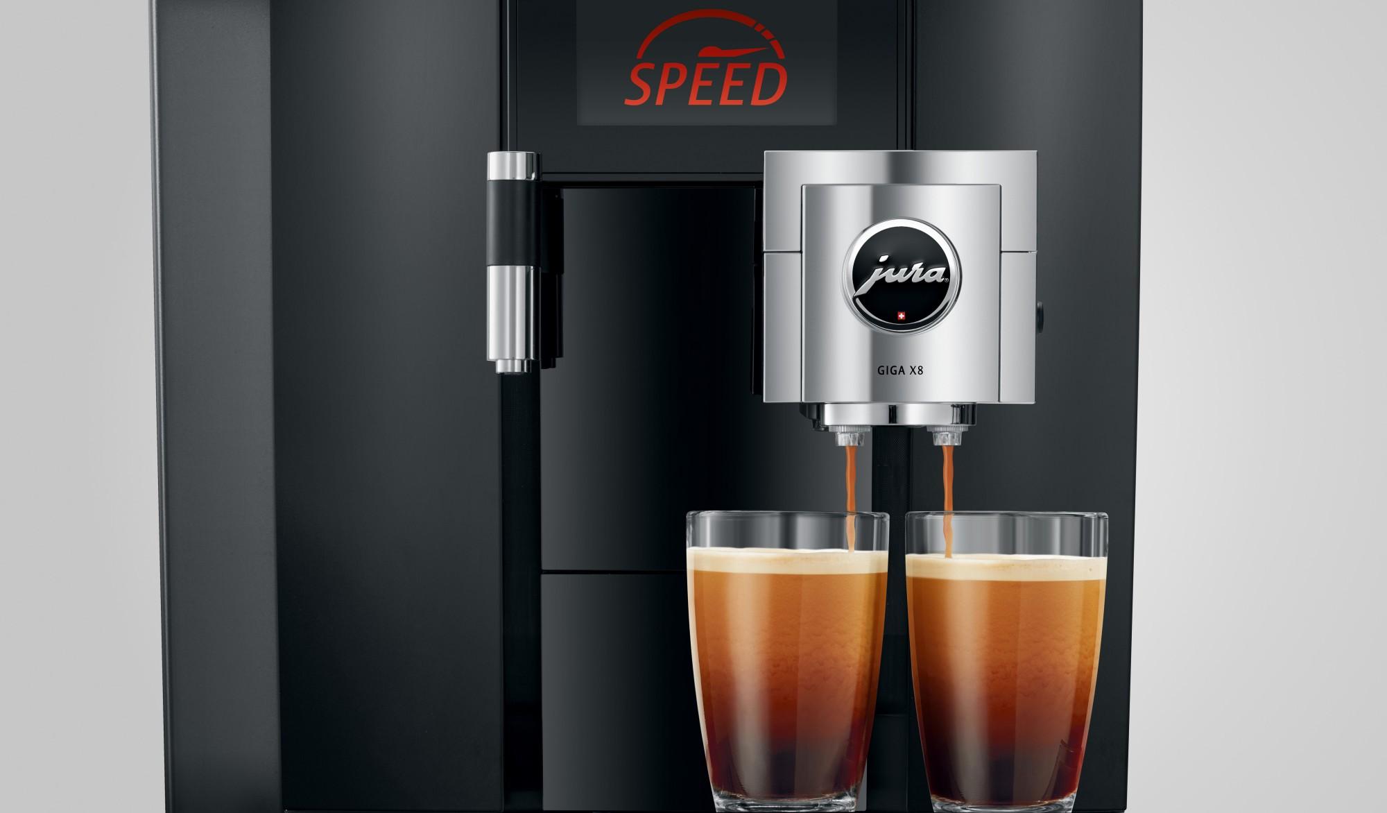 Jura GIGA X8 - voor degene die echt veel koffie wil maken