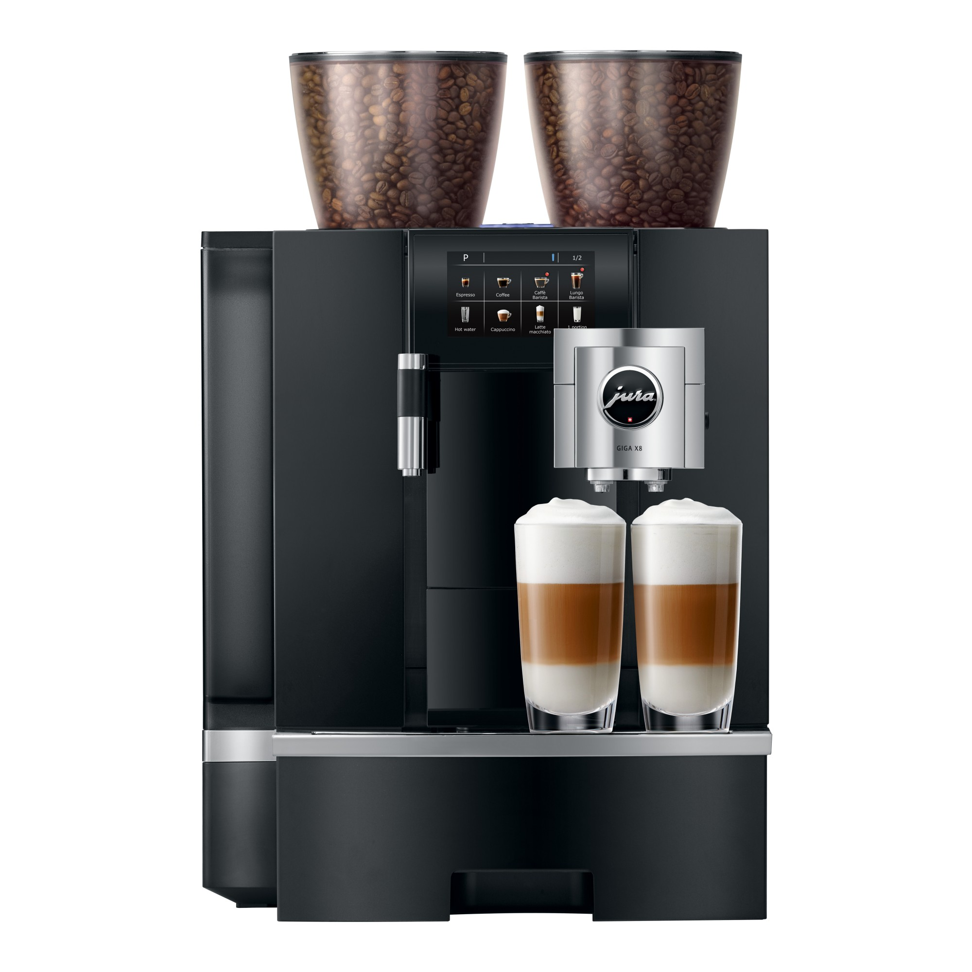 Drink Pure Africa koffie en koop de Jura GIGA X8