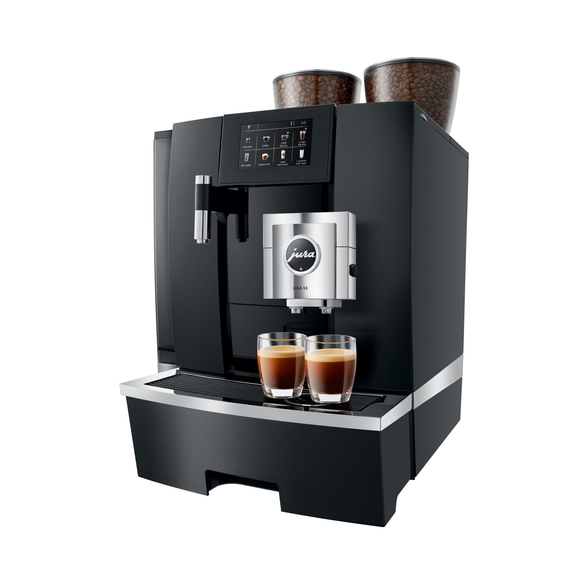 Maak de beste espresso's op kantoor met de Jura GIGA X8