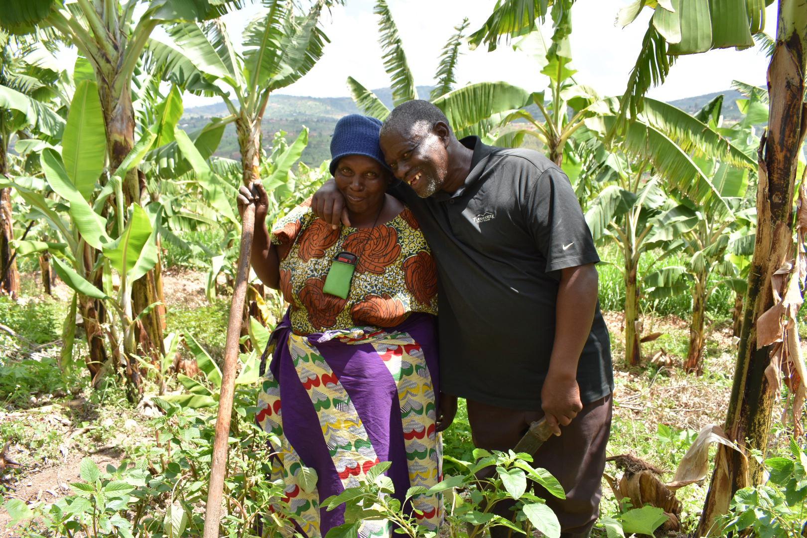 Augustin Sindambiwe | Bananenplantage | 2 x €1.000,-