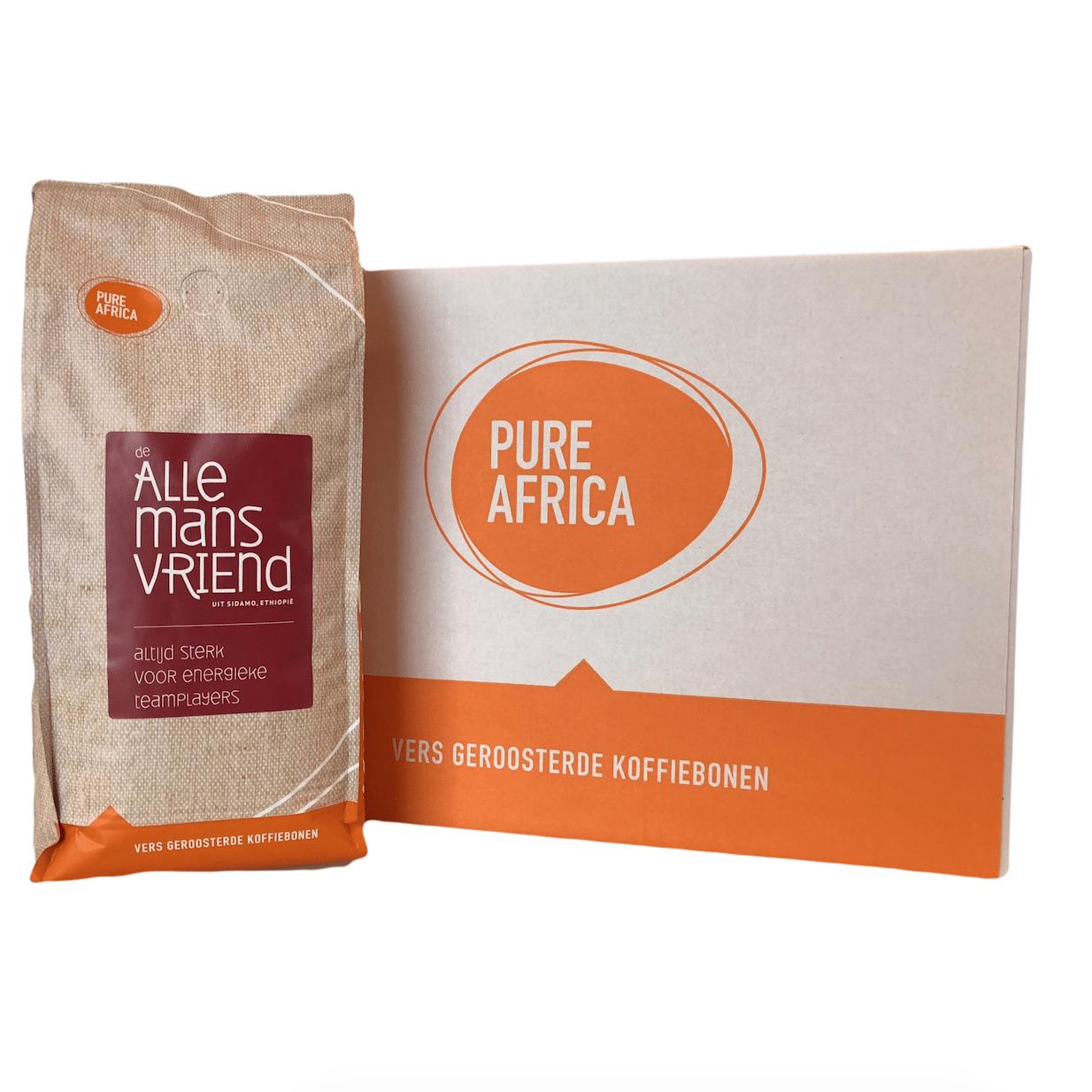 Doos koffiebonen Pure Africa | Allemansvriend | Ethiopie