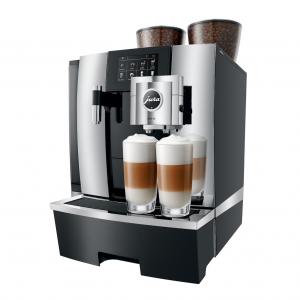 De Jura X8 crhoom is een zakelijke koffiemachine met een grote capaciteit