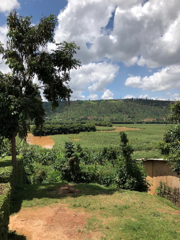De regio Runda ligt vlakbij Kigali