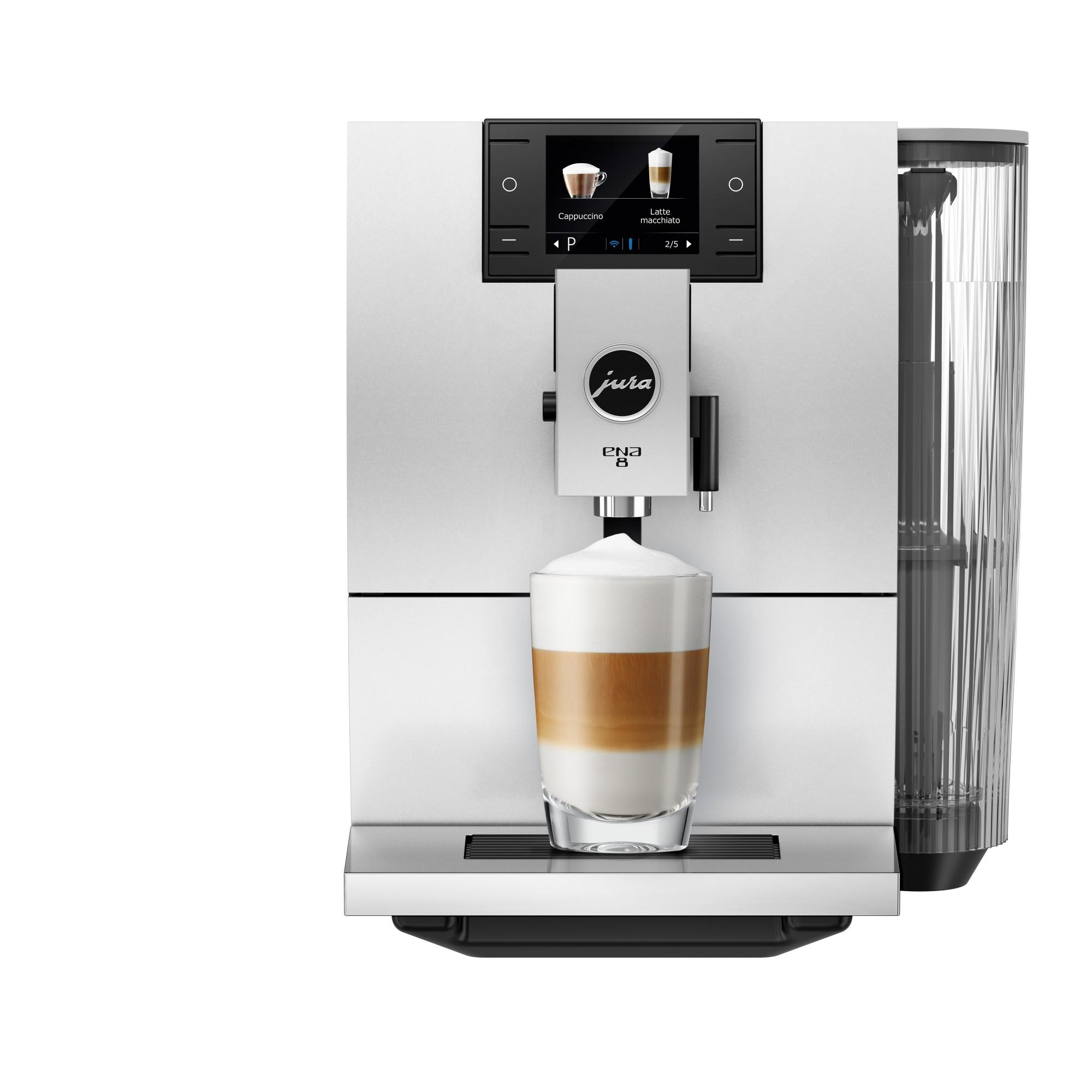 Jura ENA 8 koffiemachine in zwart