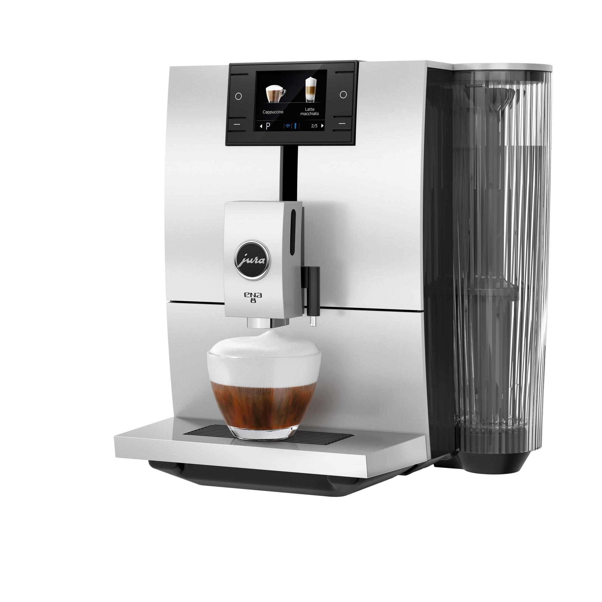 Jura ENA 8 zwart cappuccino