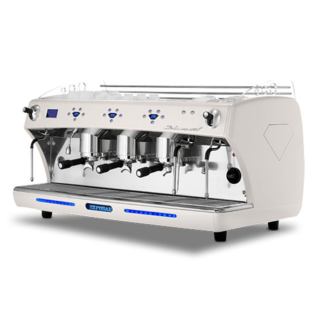 Driegroeps espressomachine van Expobar
