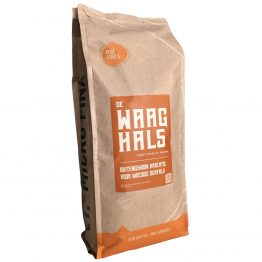 Koffiebonen waar koffieboeren winst op maken