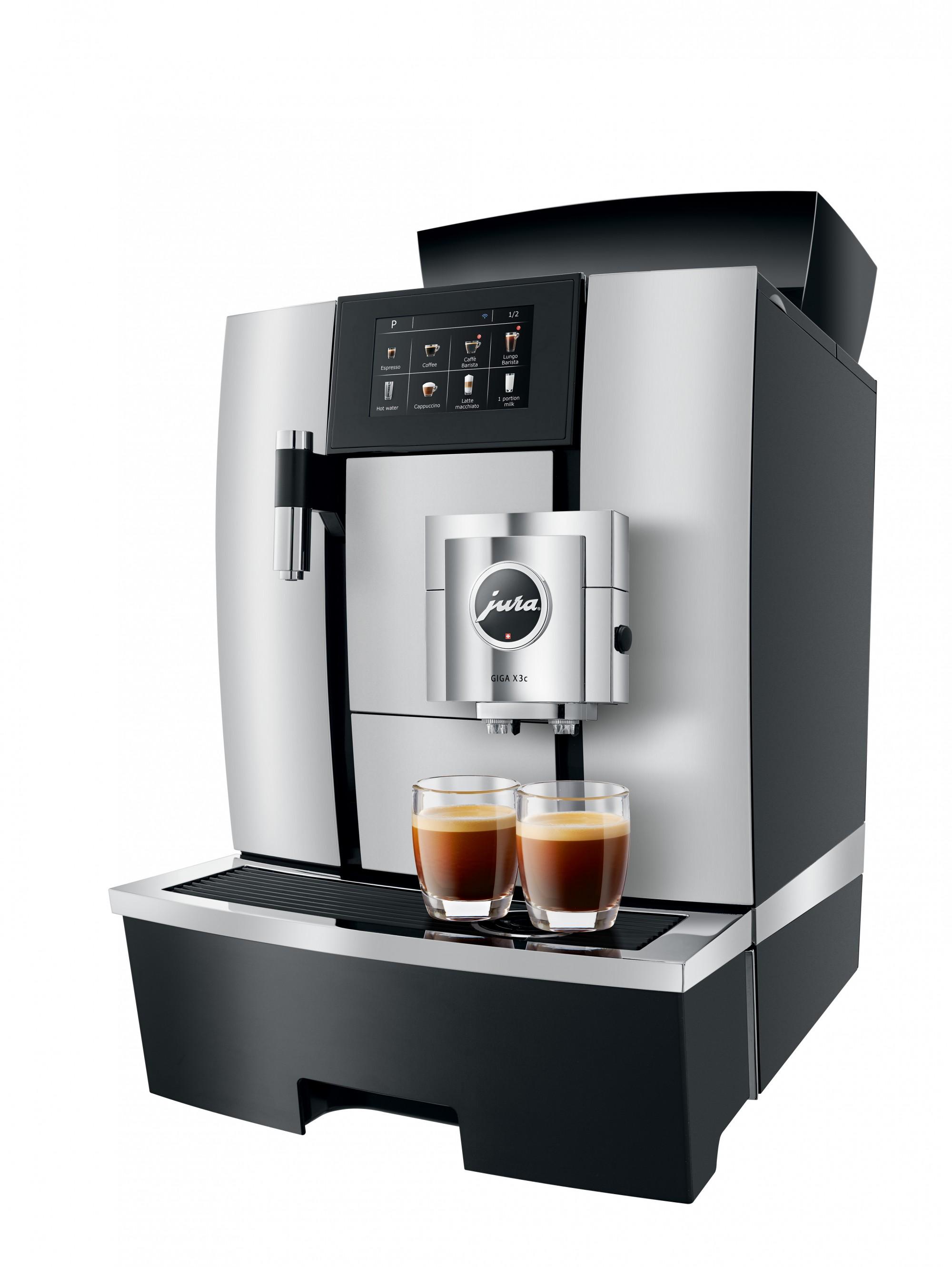 De keramische maalschijven zorgen voor een optimale koffiesmaak
