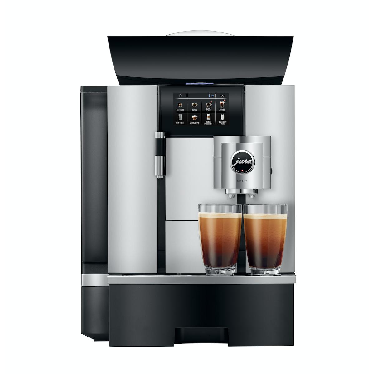 Koffiemachine voor kantoor met 50 personen of 150 koppen per dag
