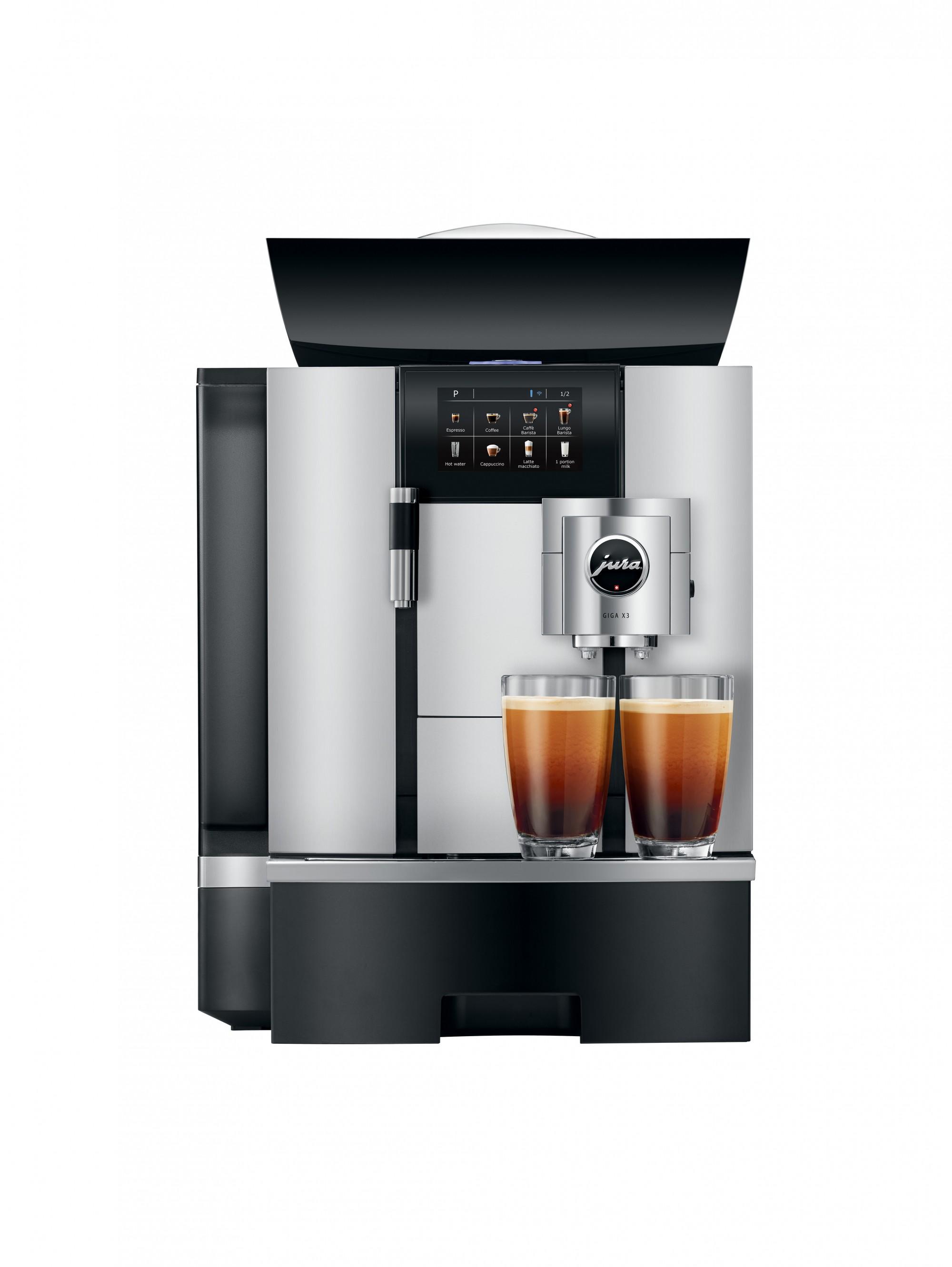 De perfecte combinatie van modern design en hoge koffiekwaliteit