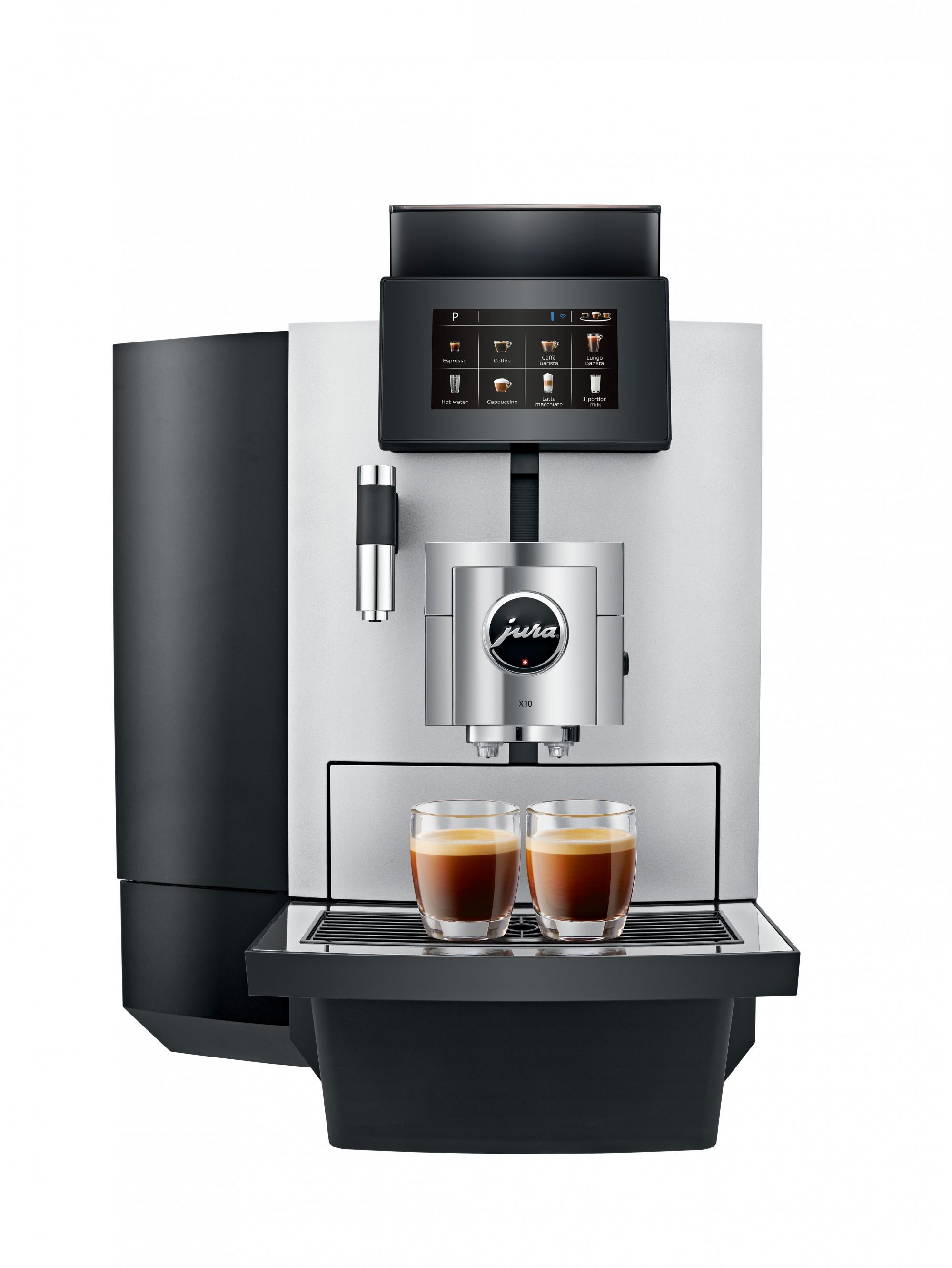 Zakelijke koffiemachine met touchscreen