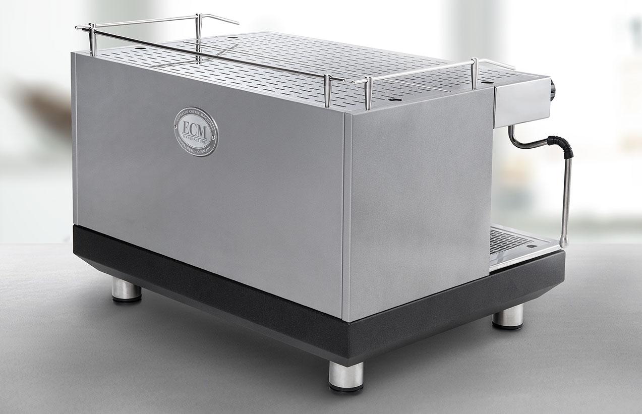 ECM halfautomaat koffiemachine leasen