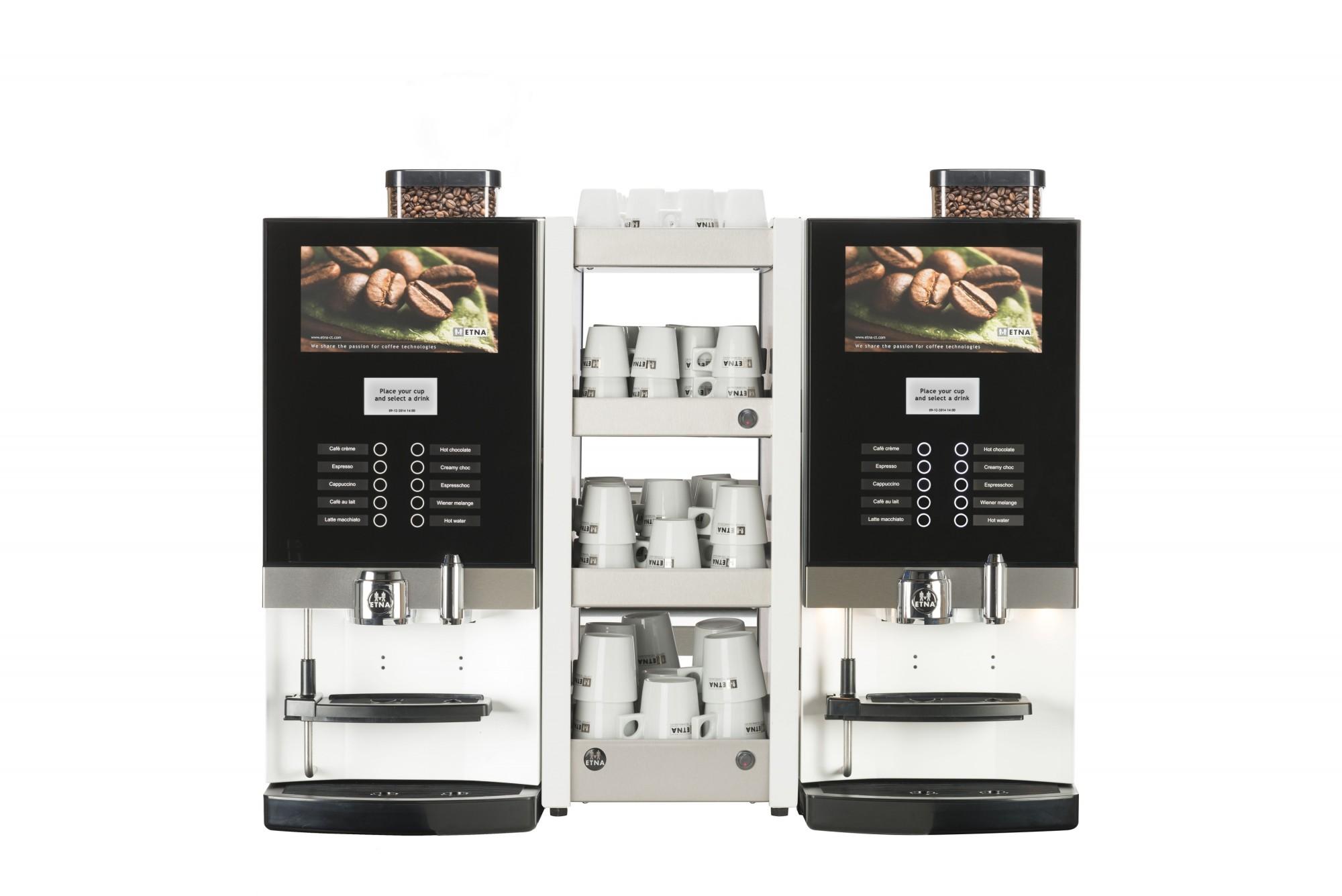 Zakelijke koffiemachine voor koffiebonen
