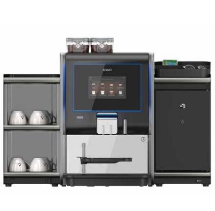 Neem een koelkast en koppenwarmer bij je koffiemachine van Animo