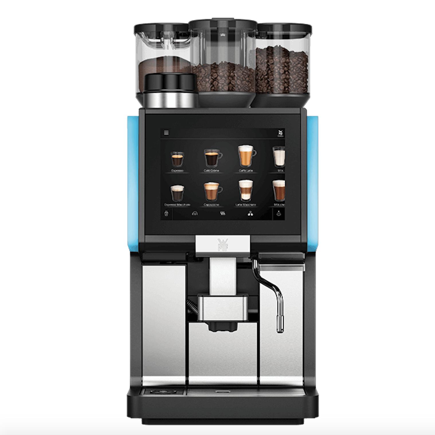 WMF 1500 S plus koffiemachine voor kantoor