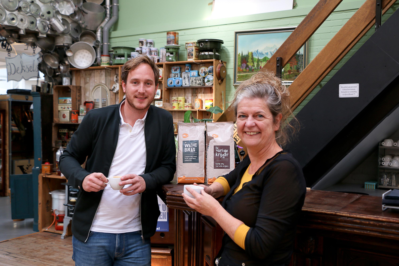 Stichting Kringloop Zwolle gaat voor eerlijke koffie van Pure Africa