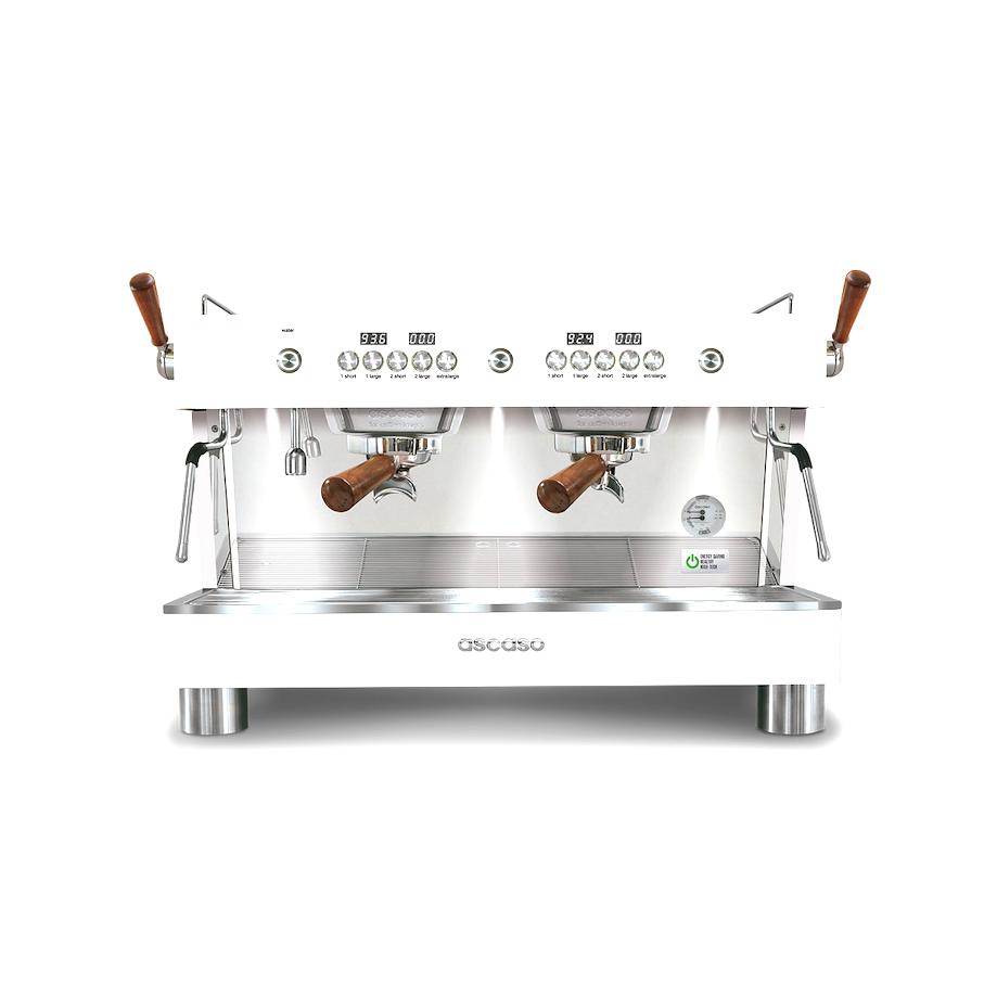Ascaso Barista T Plus wit 2 groep koffiemachine